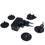 Interchangeable detachable plug 5V 1A wall USB charger adapter
